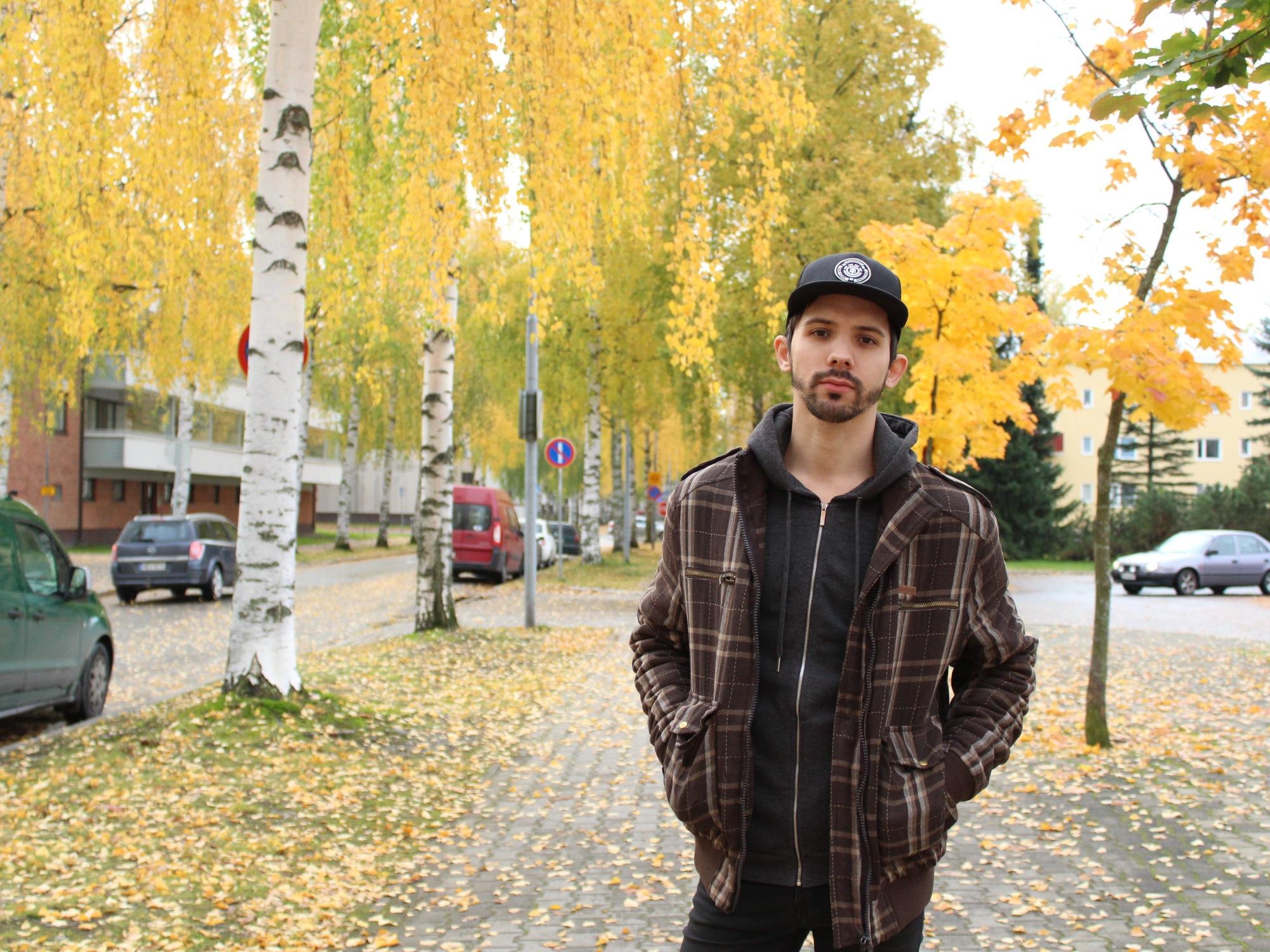 Yury in Joensuu, Finland