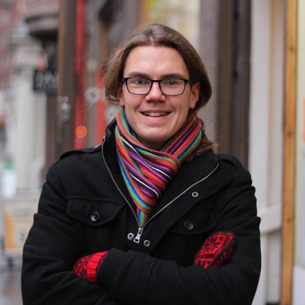 Jack Räisänen in Helsinki