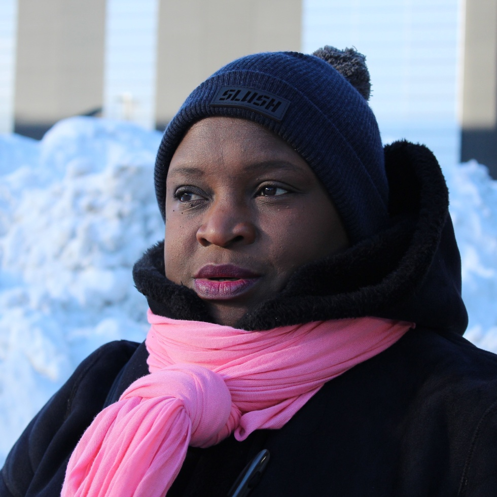 Emma Nkonoki in Espoo, Finland in 2018